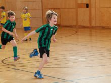 U7 und U8 Trainingsmatch